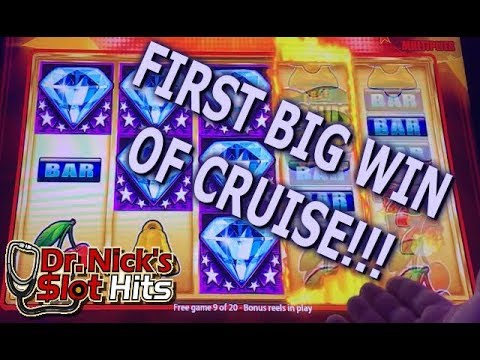 **CARNIVAL VISTA HAS BIG WINS!!!** First Big Win Of The Cruise!!!