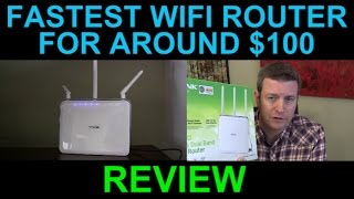 Fastest Most Powerful WiFi Router - TP Link Archer C9 AC 1900 Wireless Dual Band Gigabit Review