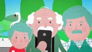 Queridosabuelos teléfono para mayores