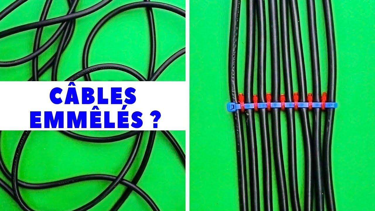 Comment Cacher Ses Cables 13 conseils de rangement malins pour les cÂbles