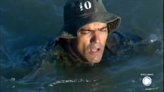 Domingo Espetacular acompanha treinamento de candidatos à elite da Marinha do Brasil