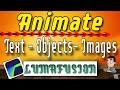Animate Text With Luma Fusion Tutorial