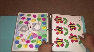Toddler Learning Binder Vol 1