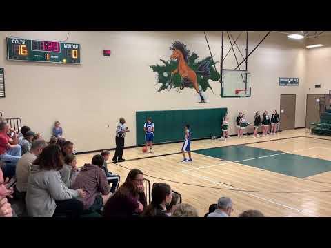 2020 01 08 Creekwood Middle School (CMS) v Keefer Crossing Middle School 8th grade basketball