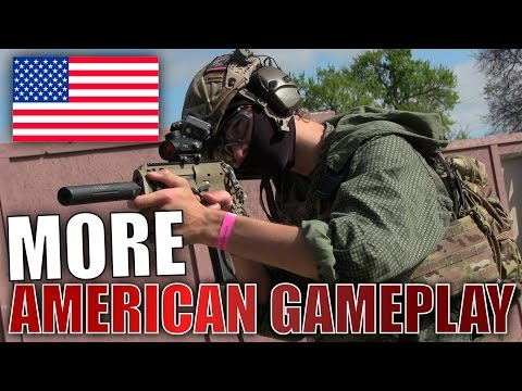 American Airsoft Gameplay at D14 2017 TEXAS USA