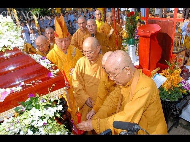 Lễ Nhập Bảo Tháp Cố HT Thích Nhật Quang