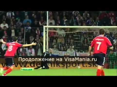 Футбол Матч Словакия — Армения Все голы