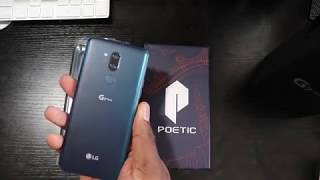 LG G7 ThinQ | Poetic Guardian Case and Tempered Glass