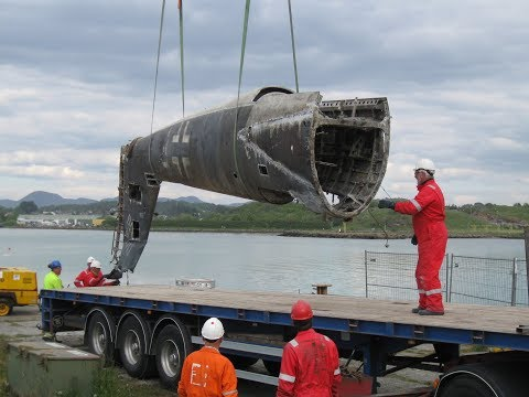 Восстановление немецкого самолета Heinkel