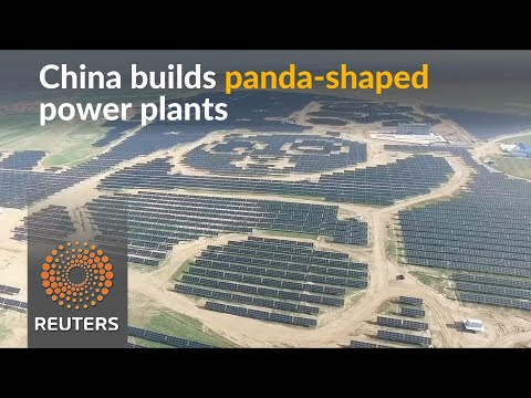 China brings green energy in the shape of pandas