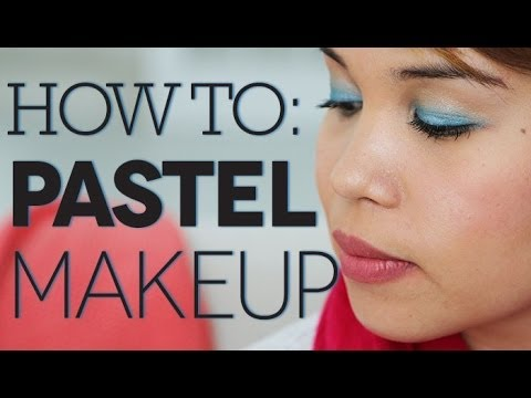 How To: Pastel Makeup Look
