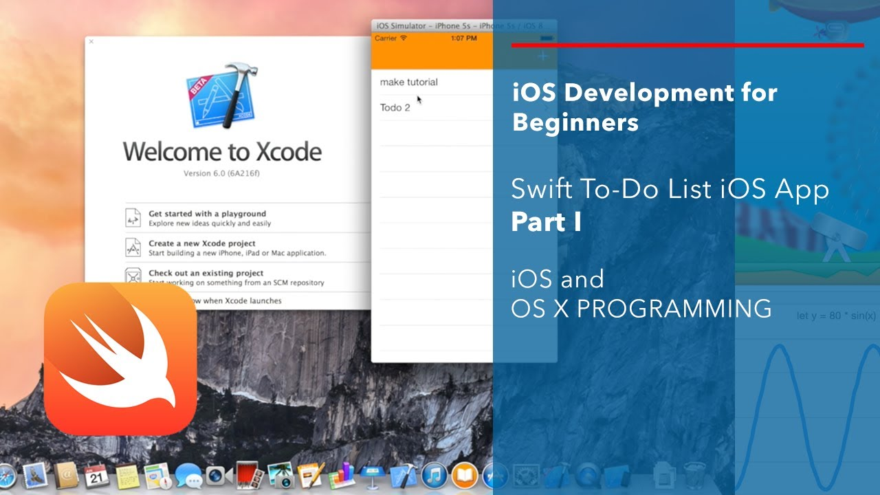 Ios And Swift Beginner Tutorial Simple To Do List Part 1 You