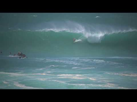 Kelly Slater Rare Double Barrel At The Eddie