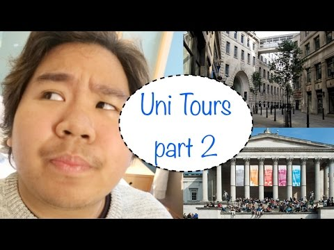 UNI TOURS PART 2: UCL & LSE (feat. other stops) || Ash Layo