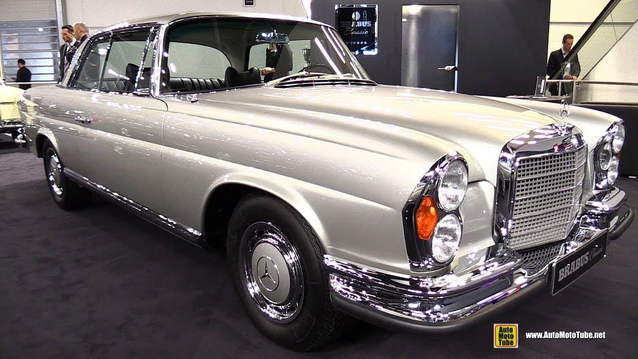 1972 mercedes 280 se 3 5 by brabus classic walkaround. Black Bedroom Furniture Sets. Home Design Ideas
