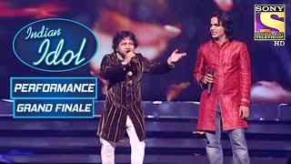 Kailash Kher और Naushad ने दिया एक जबरदस्त Duet Performance | Indian Idol Season 5 | Grand Finale