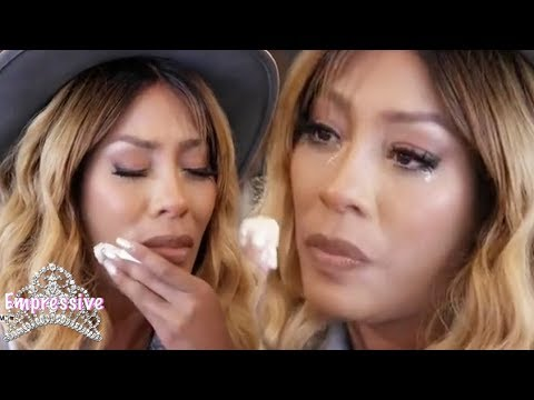 K. Michelle breaks down in tears about her butt reduction surgery
