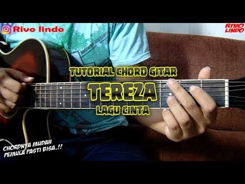 TEREZA - LAGU CINTA TUTORIAL KUNCI/CHORD GITARVERSI ASLI