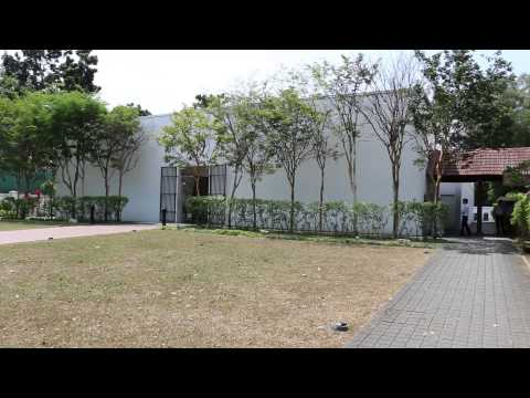 Entrance to Changi Prison Museum, Singapore