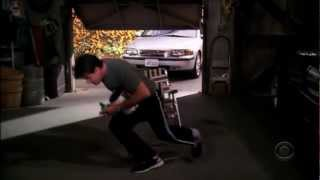 Two and a Half Men - Drinking in the Garage [HD]