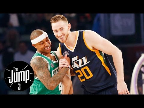 Gordon Hayward On Celtics Could Spell Trouble For Cavaliers | The Jump | ESPN