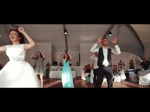 Свадебный танец с друзьями - Артем, Соня и друзья