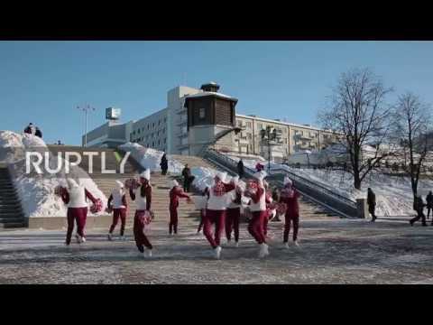 Russia: Yekaterinburg begins countdown to World Cup 2018