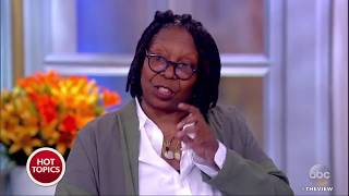 whoopi goldberg on passage from the restless wave about john mccain that moved her the view