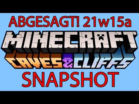 1.17 Update abgesagt ... zur Hälfte! Snapshot 21w15a Minecraft 1.17 Update