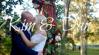 Kim & Dan - An awesome backyard wedding