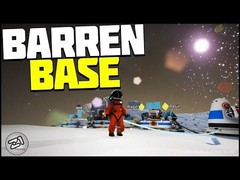 Barren Base Building ! Astroneer Rover Update 7.0 | Z1 Gaming