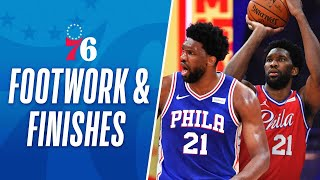 Joel Embiid's Fancy Footwork & Fantastic Finishes 😤