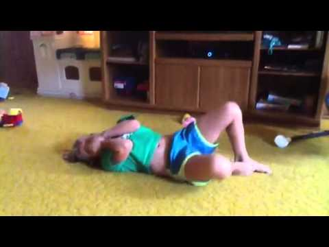 Back Bend Kick Over (Clemmons Gymnastics) - YouTube