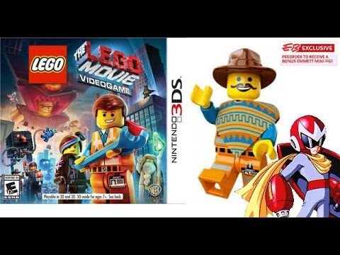 The Lego Movie Videogame 3DS Review with Western Emmet Minifig - Protoman Gaming