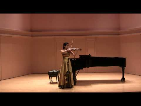 Bach violin sonata No. 2 in A minor, 1. Grave, 3. Andante, 4. Allegro