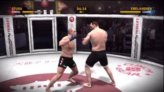 Tim Sylvia vs. Fedor EA MMA Bloodbath