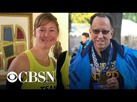 Andi and Kenny  - Daily Do Good: Runner Reunites With Doctor Who Saved Her During Marathon