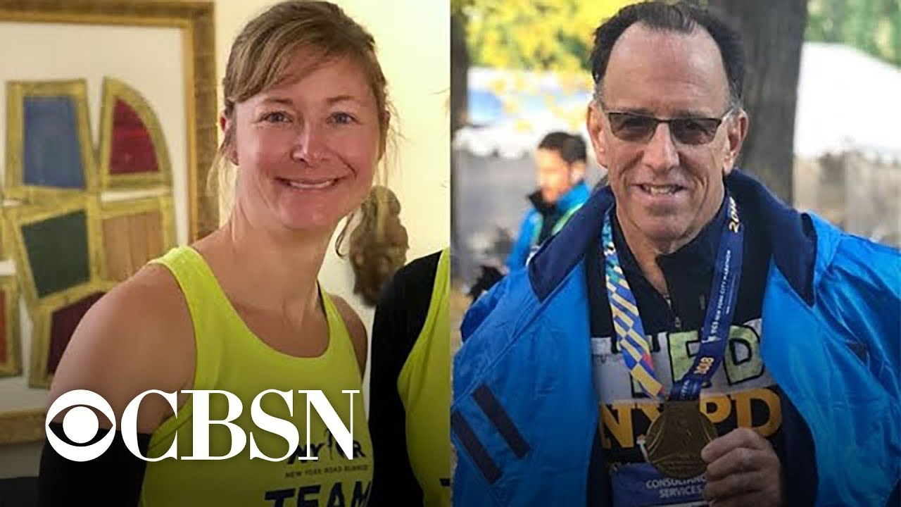 Doctor and runner reunite after he saved her life during New York Marathon