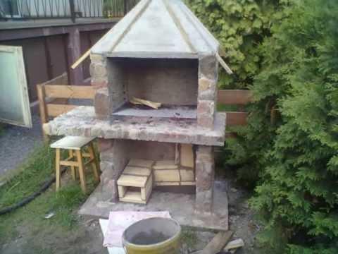 Budowa grilla z kamienia polnego