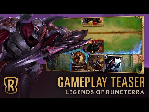 Legends of Runeterra - Gameplay Teaser | 30 Second Preview