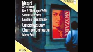 "Preview - W.A. Mozart - Serenade in D-major, KV 239 ""Serenata notturna"" - Mov I"