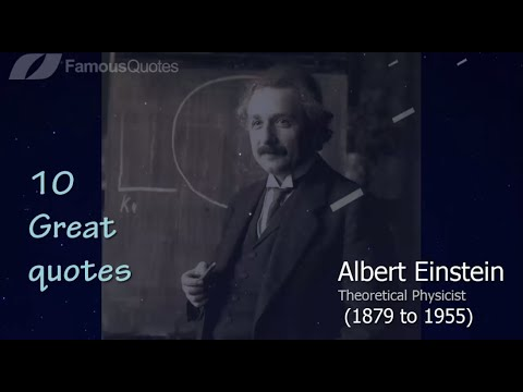Albert Einstein 10 Great Motivational Quotes About Life Famous