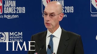 Amid China Backlash, NBA Commissioner Says League Will Support Freedom Of Speech | TIME