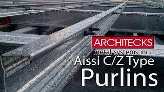AISSI C & Z Type Purlins