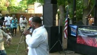 "Kenne' Wayne performs @ KJCB 770 AM Radio's ""Jazz On the Green"" April 9, 2010"