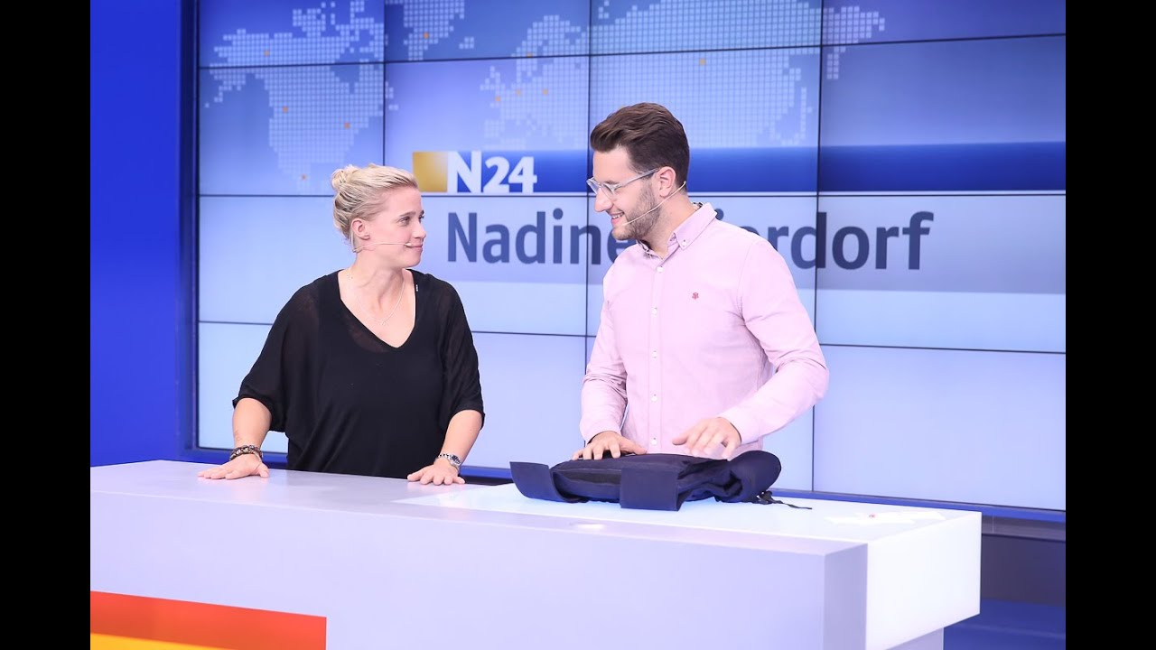N24 Now N24 Ifa 2014 N24 Faces Nadine Mierdorf Youtube