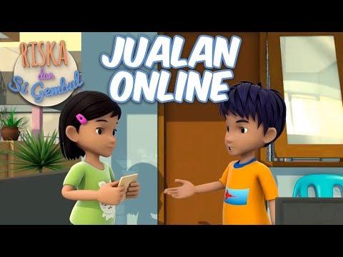 Riska Dan Si Gembul -  Belajar Jualan Online