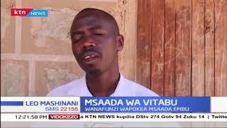 Wanafunzi wapokea vitabu kutoka msaada wa Rotary Embu