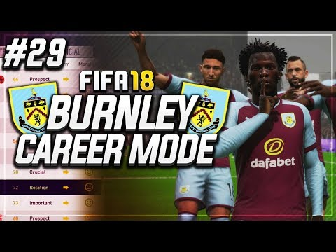 CHAMPIONS LEAGUE KNOCKOUTS ON THE LINE!! #29 - FIFA 18 BURNLEY CAREER MODE