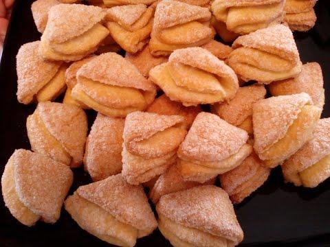 Творожное печенье ГУСИНЫЕ ЛАПКИ. Вкуснейшее печенье \